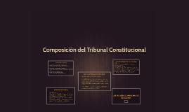 Composición del Tribunal Constitucional