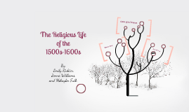 The Religious Life of the 1500s-1600s