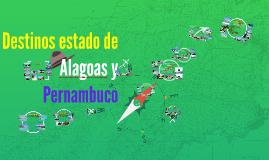 Costa estado Alagoas y Pernambuco