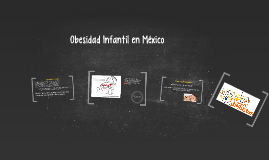 Copy of Obesidad Infantil en Mexico