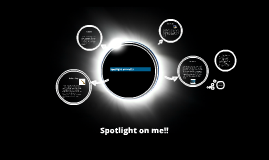 Spotlight on me!!