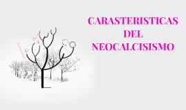 CARACTERISTICAS DEL NEOCLACISIMO