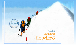 Role of Emerging Leaders