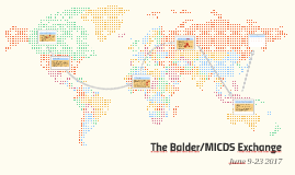 June Itinerary: The Balder/MICDS Exchange