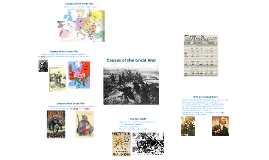 The Great War: Causes, Course, Consequences
