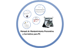 Copy of Manual de Mantenimiento Preventivo y Correctivo para PC