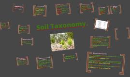 Copy of Copy of Soil Taxonomy/Taxonomia del Suelo.
