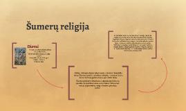 Šumerų religija