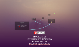 PROGRAMA DE INTERVENCIÓN TEMPRANA EN SALUD BUCAL