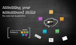 Assessing your assessment skills