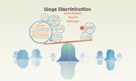 Wage Discrimination