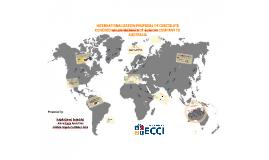 INTERNATIONALIZATION PROPOSAL OF CHOCOLATE COVERED GOLDENBER