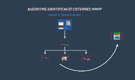 ALGORITME IDENTIFICACIÓ CISTERNES MMPP