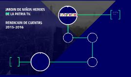 JARDIN DE NIÑOS HEROES DE LA PATRIA TV.