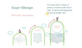 Copy-Change Poetry