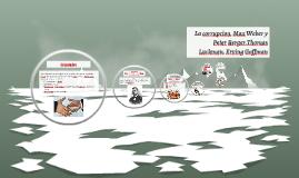 Copy of La corrupcion, Max Weber y Peter Berger