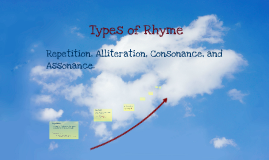 Copy of Rhyme and Rhythm - Alliteration, Consonance, Assonance, and Repetition.