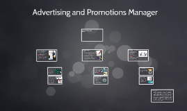 Advertsing and Promotions Manager