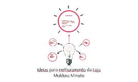 Ideias para melhoramento da Loja