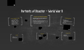 Portents of Disaster World War II