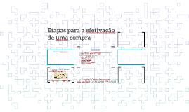 Copy of Etapas para a efetivação de uma compra