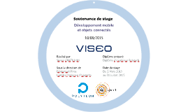 Présentation soutenance de stage VISEO