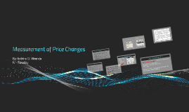 Copy of Measurement of Price Changes