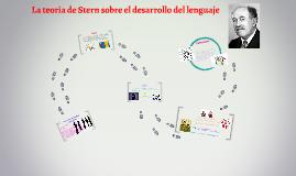 Copy of La teoria de Stern sobre el desarrollo del lenguaje