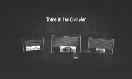 Trains in the Civil War