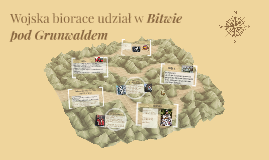 Wojska biorace udział w Bitwie pod Grunwaldem