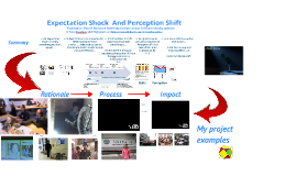Expectation Shock and Perception Shift (new presentation version)