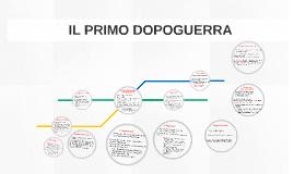 IL PRIMO DOPOGUERRA