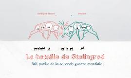 Copy of La bataille de Stalingrad