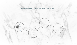 Canada's Military presence after the Cold war