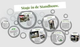 Stage in de Standbouw.