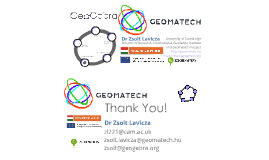 Geomatech-Training Aug 2014