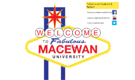 Welcome to MacEwan University: CFAC Student Orientation