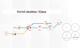 Social struktur: Klass