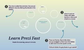 Copie de Learn Prezi Fast