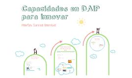 Desarrollo de Capacidades en DAIP para Innovar