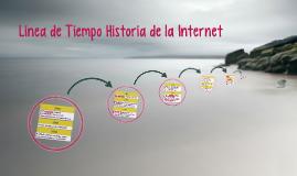 Línea de Tiempo Historia de la Internet