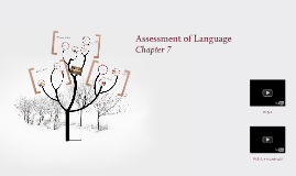 Lecture 7: Assessment of Language