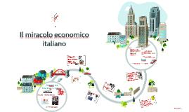 il miracolo economico italiano