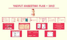 YAKULT MARKETING PLAN - 2018