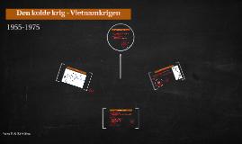 Den kolde krig - Vietnamkrigen