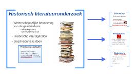 Historisch literatuuronderzoek
