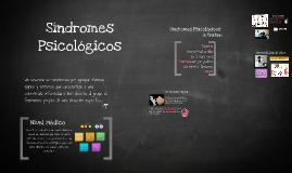 Síndromes Psicologicos