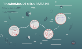 PROGRAMAS DE GEOGRAFÍA NS