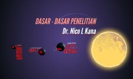 DASAR - DASAR PENELITIAN