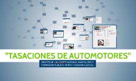 TASACIONES DE AUTOMOTORES